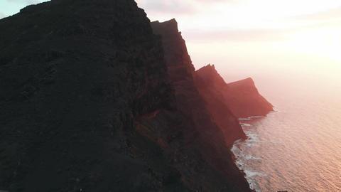Aerial view of the natural attractions of Gran Canaria island - Mirador del Footage