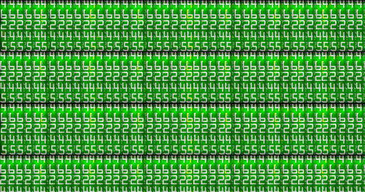 abstract dot glitter sparkle green binary digital code, computer generated seamless loop abstract Footage