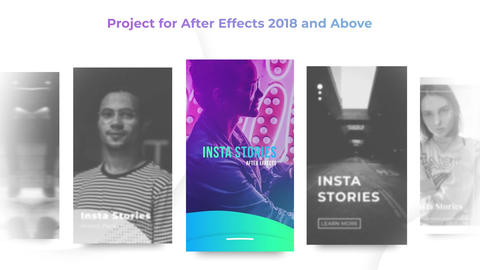 Insta Stories Pack After Effects Template