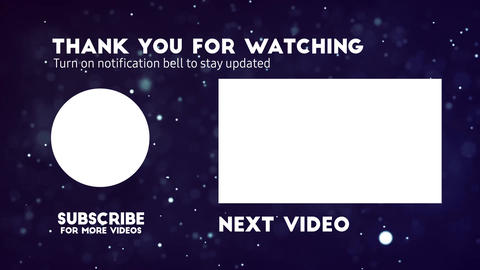 Youtube End Screen Templates 2