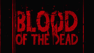 Blood Of The Dead Title Reveal After Effects Template