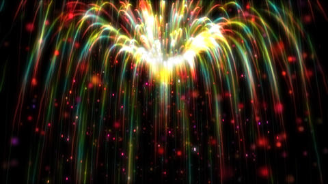 Abstract Fireworks Light V01 0