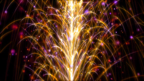 Abstract Particles Animation HD 04 Animation
