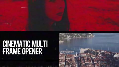 Cinematic Multi Frame Opener Premiere Pro Template