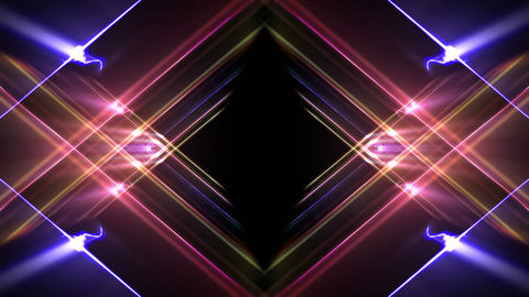 Colorful Abstract Light Background Animation