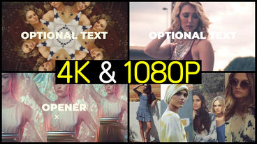 Rhythmic Fashion Opener After Effects Templates