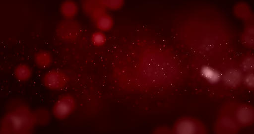 abstract christmas gradient red and violet background with red bokeh glitter sparkle flowing Footage