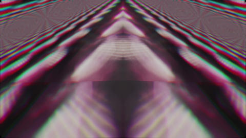 Defocused geometrical sci-fi elegant iridescent background Footage
