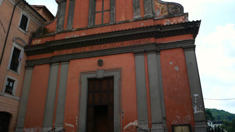 Church in Nemi, Roman province Footage