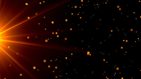 Particles dust background seamless loop background Animation
