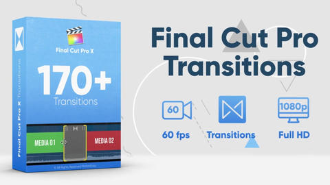 170+ Final Cut Pro Transitions Pack Apple Motion Template
