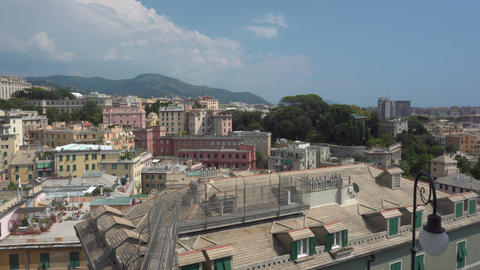 View on Genoa city Archivo