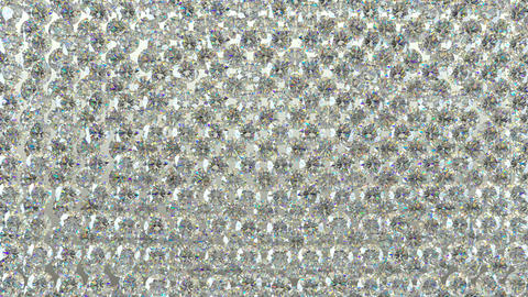 Diamonds scattering or flying away over studio light background with Alpha 4K Animation