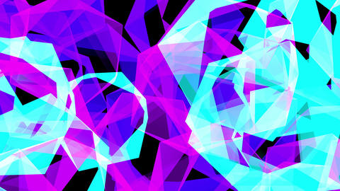 Abstract Shape 4K 02 Vj Loop Animation