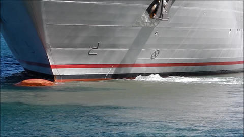 Ship's bow propeller Live Action