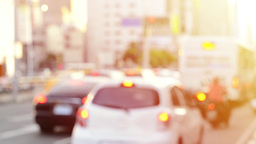 Blurred traffic view Live影片