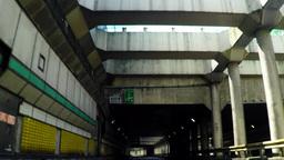 Metropolitan Expressway Kanagawa Yokohane line, near Kannai/横浜、関内付 Footage