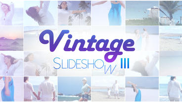 Vintage Slideshow III - Apple Motion and Final Cut Pro X Template Plantilla de Apple Motion