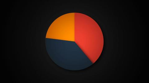 Circle diagram for presentation Animation
