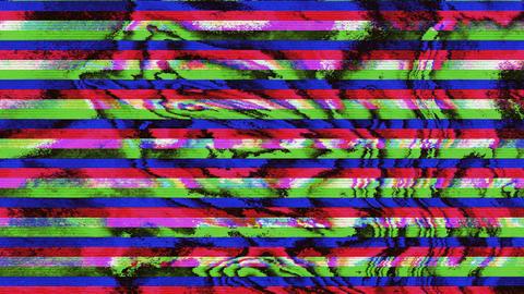 Abstract vintage bad tv elegant iridescent background Footage