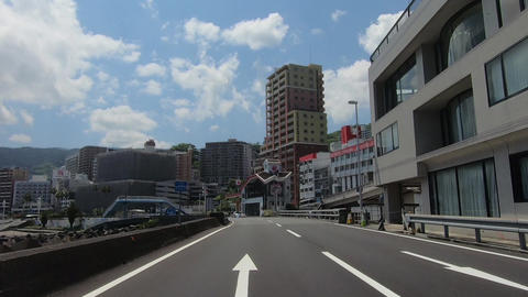 Atami, a tourist spot in Japan Footage