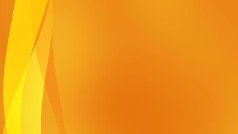 Orange Background CG動画