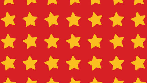 animated pattern with ideal stars for the Christmas season Footage