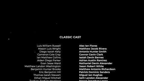 Film Credits Pro Apple Motion Template