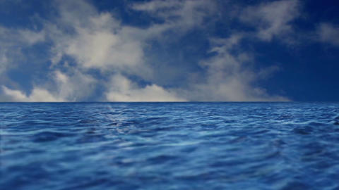 Calm Ocean Background Animation