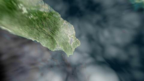 4K Earth Zoom: Taipei – Taiwan 動畫