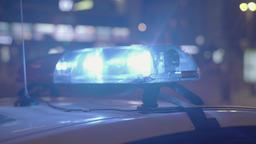 Lights flashing police emergency lights ビデオ