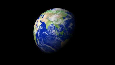 4K Earth Zoom: Singapore Animation