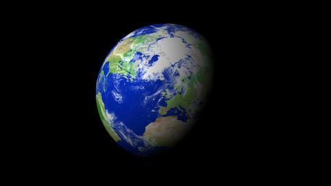 4K Earth Zoom: Belfast – Northern Ireland Animation