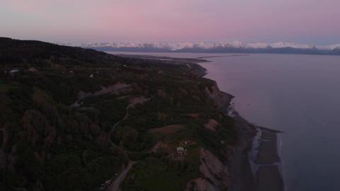 Sunset on the Gulf of Alaska Live Action