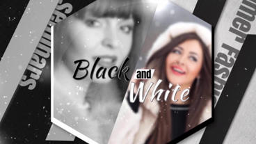 Black And White After Effects Template