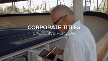 Design Corporate Titles Premiere Pro Template