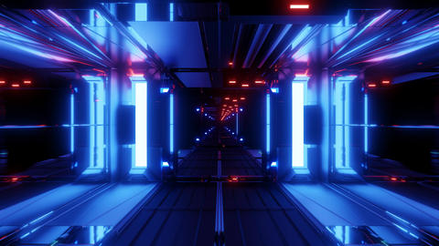 nice glowing space tunnel background wallpaper 3d rendering vjloop Live Action
