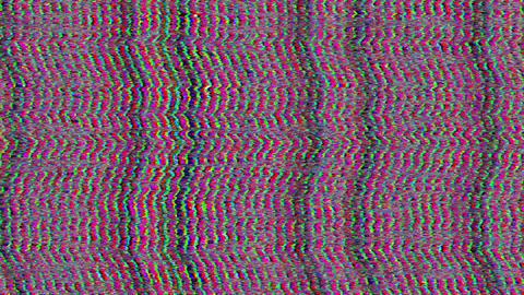 Fantasy bad tv imitation light leaks shimmering background Live Action