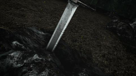 A Legendary Sword Stuck Inside a Stone Live Action