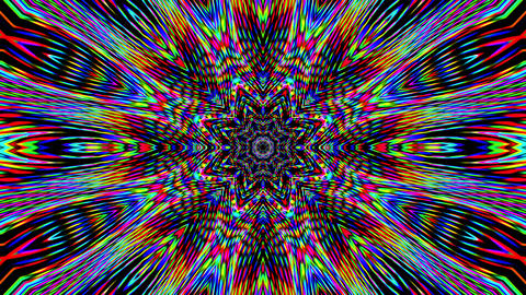 Colorful glitch imitation light leak shimmering background. Glitch art Live Action