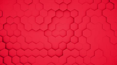 abstract polygonal geometric surface random waving Footage