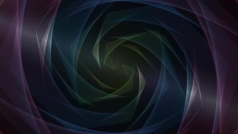 Elegant waves Animation Background-4 CG動画