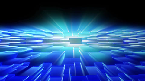 Grid Box Rays HD 03 Animation