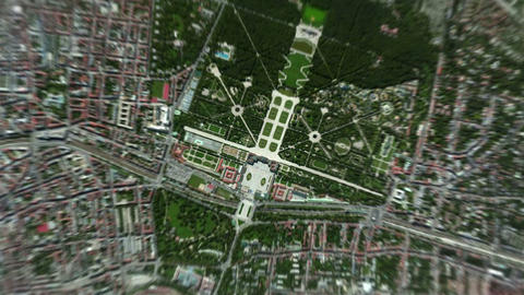 4K Earth Zoom: Vienna – Austria Animation