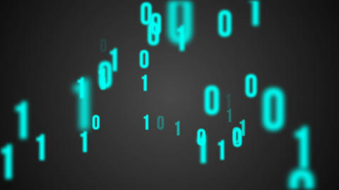 Binary code background animation Animation