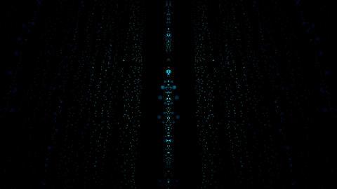 Particle Rain Comet Star CG動画