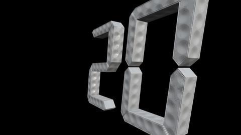 From Twenty To One Countdown Loop GIF
