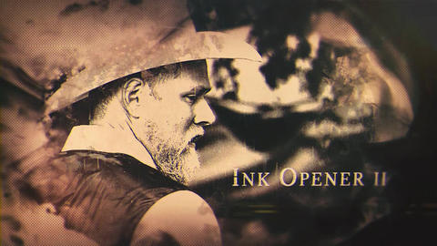 Ink Opener II After Effects Template