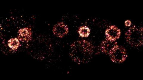 Fireworks bg loop 11 Animation