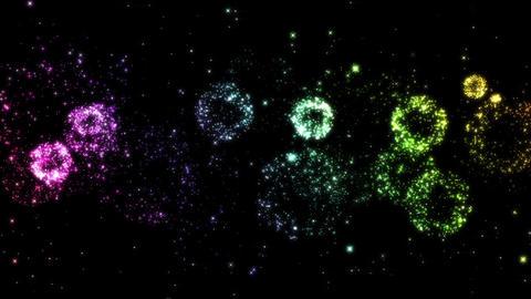 Fireworks bg loop 20 Animation